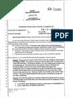 King county superior court Brian farrel Search warrant affidavit