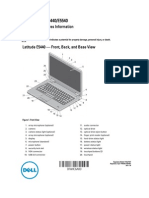 Latitude, e5440, dell,  Laptop User's Guide en Us