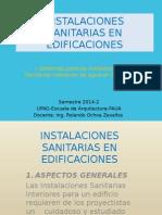 INSTALACIONES SANITARIAS EN EDIFICACIONES faua UPAO.pptx
