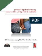 Combating the HIV Epidemic Among Same Gender Loving Men in Maryland