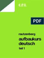 Aufbaukurs Deutsch Teil 1