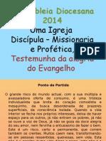 Formaçao Pemba Preparaçao Assembleia Diocesana