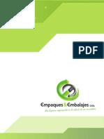 Brochure E&E Empaques y Embalajes