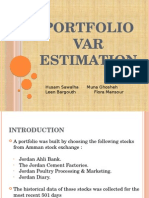 Portfolio VaR Estimation_Final1leen