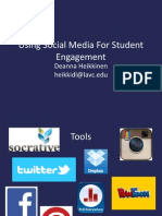 Social Media for Student Engagement FTLA