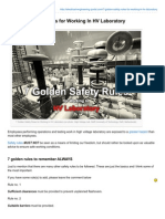 Electrical-Engineering-portal.com-7 Golden Safety Rules for Working in HV Laboratory