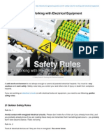 Electrical-Engineering-portal.com-21 Safety Rules for Working With Electrical Equipment