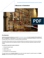 Electrical-Engineering-portal.com-Active Fire Protection Measures in Substation