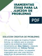 Herramientas Creativas Para La Solucion de Problemas