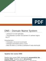 DNS Prezentare