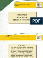 Conceptos básicos derecho municipal