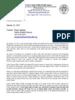 Lewis County Public Health Agency Jan. 2015