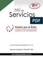 Menu Servicios 2014