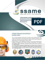 Brochure SSAME