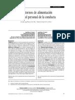 Trastornos de La Alimentación y Control Personal de La Conducta.