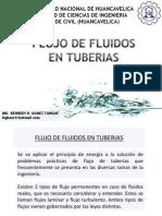flujo de tubos en tuberias