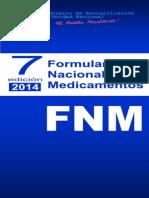 Formulario Nacional de Medicamentos 2014 7ma Ed..pdf