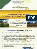 1.3 Normas Legales Para EIA