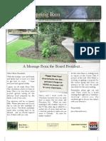 Springs Newsletter January