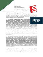 DECLARACIÓN PÚBLICA SOBRE PSU COMO INSTRUMENTO DE SELECCIÓN UNIVERSITARIA