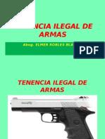 Tenencia Ilegal de Armas 2013