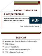 Educa c i on Competencias