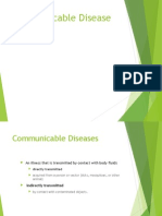 Communicable Diseases 2012