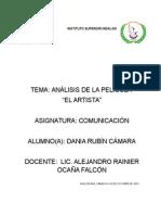 Analisis El Artista
