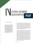 Notas Sobre Sócrates(1)