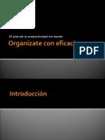 Resumen Organizate con Eficacia