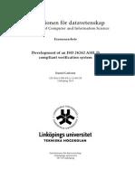 Development of an ISO 26262 ASIL D
