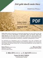 Hertha PAULI – Der Riss der Zeit geht durch mein Herz