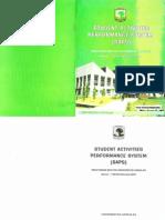Pedoman SAPS Universitas Andalas