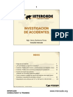 investigacion de accidente