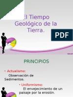 El Tiempo Geológico de La Tierra