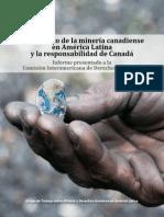 InforEl impacto de la minería canadiense en América Latina y la responsabilidad de Canadáme Final Canadá
