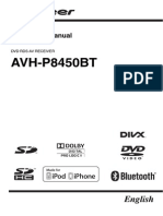 Operating Manual (Avh p8450bt) Eng