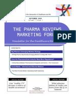 Pharma Reviews Newsletter Sep09