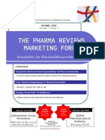 Pharma Reviews Newsletter Oct09