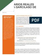 Introduccion a los Comentarios Reales del Inca Garcilaso de La Vega