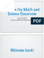 math and science with ipads
