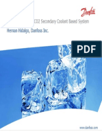 System Design for CO2 Secondary Coolant Based System