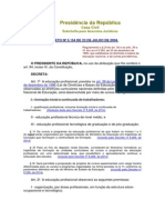 Decreto Nº 5.154 de 23 de Julho de 2004.