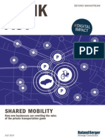 Roland Berger TAB Shared Mobility 20140716
