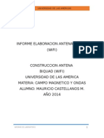Informe Antena