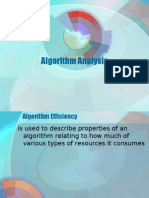 Algorithm Analysis (DASTAL)