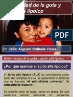 002. Enfermedad de La Gota - Cesar Ordinola Vieyra