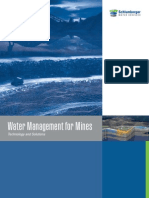 Water Management for Mines