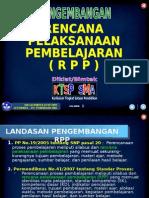1.10 Pengembangan RPP