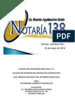 Novedades Agrarias Notariales Cancun Mayo2014